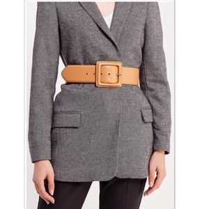NWT Banana Republic Thick Leather Belt